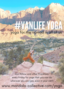 #VanLife Yoga with Willow (online) @ Online